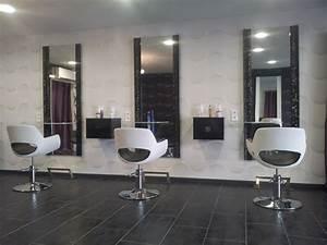 Mobilier Salon De Coiffure : salon de coiffure ambiance moderne le fil de l 39 me nos r alisations meubles pour coiffeur paris ~ Teatrodelosmanantiales.com Idées de Décoration