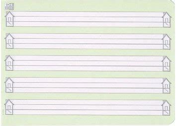 Bei lineaturen der ersten und zweiten klasse kannst du optional zusätzlich schreiblernhäuser am linken und/oder rechten rand anzeigen. 1 Klasse Linien Haus - Lineaturübersicht Spezialhefte ...
