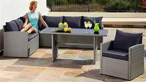 Polyrattan Tisch Grau : loungeset chicago 14 tlg eckbank sessel tisch 145x70 cm polyrattan grau online kaufen ~ Indierocktalk.com Haus und Dekorationen