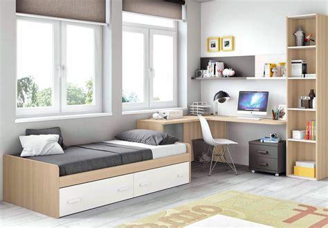 chambre moderne ado et avec lit 2 coffres glicerio