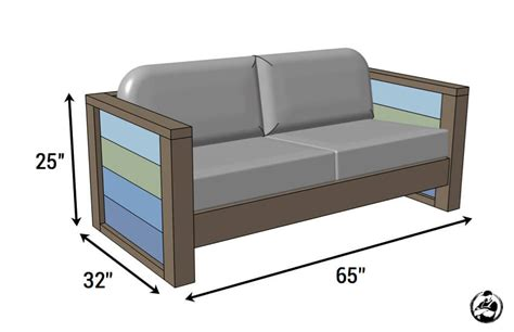 rogue engineer  plans outdoor wood plank loveseat