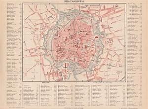 Meine Stadt Braunschweig : braunschweig alter original stadtplan von 1889 ebay ~ Eleganceandgraceweddings.com Haus und Dekorationen
