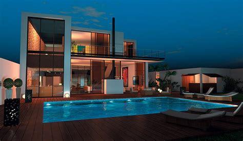 plan maison moderne 3 chambres maison contemporaine à étage 300 m 4 chambres