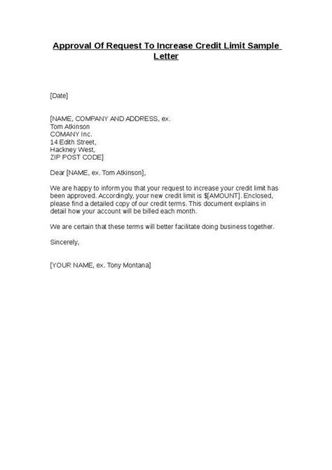 approval letter samples sample letters word