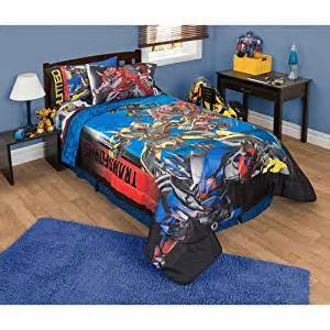 Amazon Prime Bedding by Amazon Com Transformers 4 Battle 5pc Comforter And