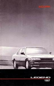 1987 Acura Legend Owners Manual User Guide Reference
