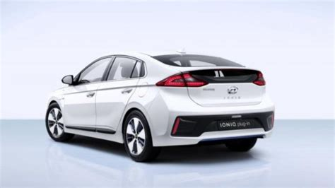 hyundai ioniq electric hatchback colors release date
