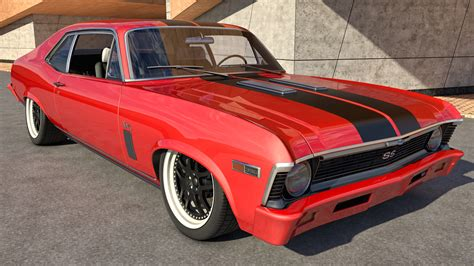 Image result for chevy nova red