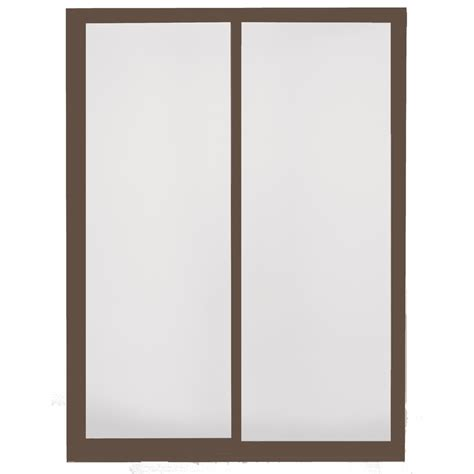 shop betterbilt 6 betterbilt sliding patio door aluminum