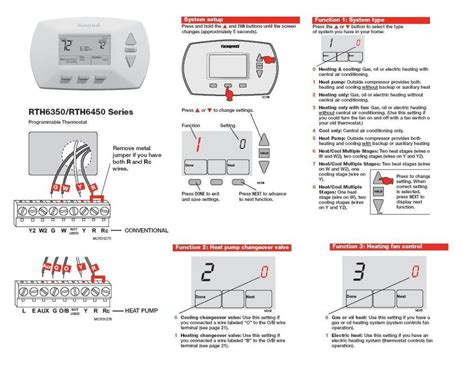 Honeywell Thermostat Wiring Diagram Manual by Honeywell Rth3100c1002 To A Wiring Diagram Gallery
