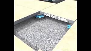 Dalle Sur Plots : d couvrir la pose de dalles sur plots pour votre terrasse youtube ~ Farleysfitness.com Idées de Décoration