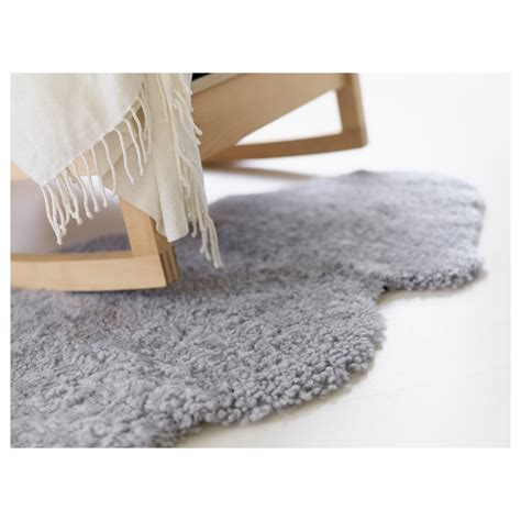 Sheepskin Rug Ikea by Ikea Faux Sheepskin Rug White Gray Soft Warm Cozy