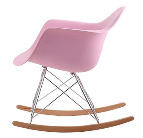 chaise a bascule rar eames hnnhome eames inspired rar lounge retro rocker rocking