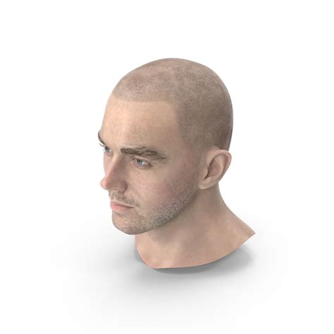 Male Head PNG Images & PSDs for Download   PixelSquid ...
