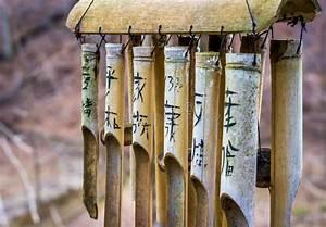 Objet Bambou Faire Soi Meme : carillon de vent asiatique en bambou photo stock image 47945448 ~ Melissatoandfro.com Idées de Décoration
