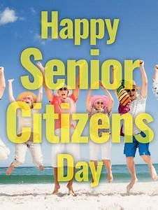 Senior Citizens Day Cards 2019, Happy Senior Citizens Day ...