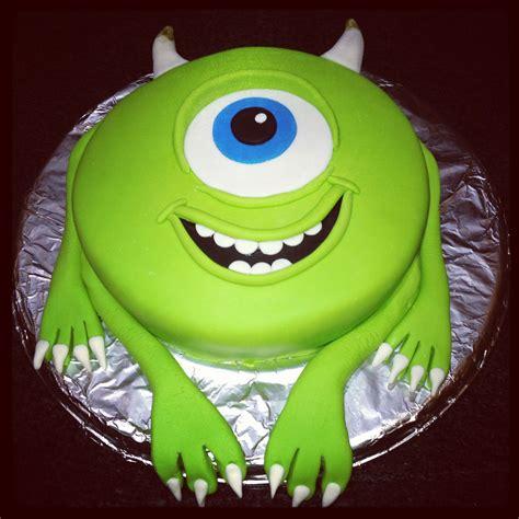 mike wazowski cake kids birthdays pinterest cakes