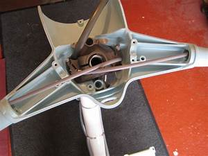 Lambretta Restoration  Install Headset Bottom