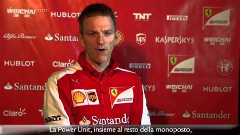 He was born in rochester. Ferrari SF15-T: Intervista con James Allison - YouTube