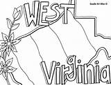 Coloring Virginia West Iowa States United State Doodle Mountaineer Alley Printable Template Flag Flower Getcolorings Templates Sketch Usa Mediafire Neat sketch template