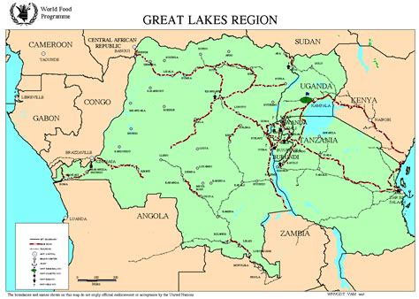 the great lakes region an african adventure