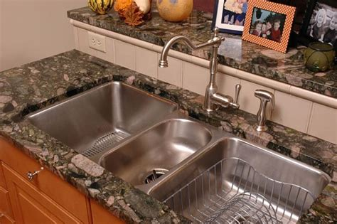 3 bowl undermount kitchen sink tips for selecting the right kitchen sink style for your home 7312