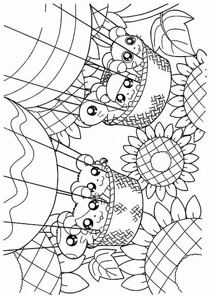 Hamtaro Coloring Pages Paddington Bear Holidays Tv