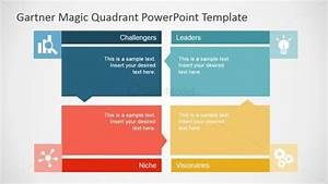flat gartner magic quadrant for powerpoint slidemodel With how to add template in powerpoint
