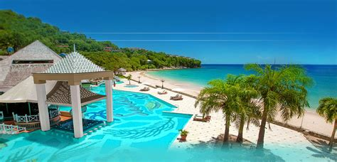 sandals  st lucia  inclusive resorts