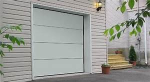 porte de garage sectionnelle avec porte cave blindee With porte de garage enroulable avec deco porte interieure maison