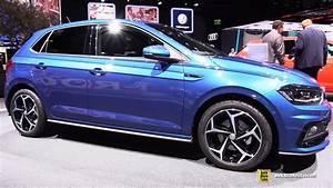 Polo 6 R Line : 2018 volkswagen polo r line exterior and interior walkaround 2017 frankfurt auto show youtube ~ Medecine-chirurgie-esthetiques.com Avis de Voitures