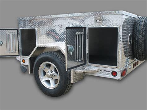 custom  aluminum trailers truck bodies boxes  sale