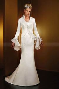 wedding dresses for brides over 50 stylosscom With over 50 wedding dresses