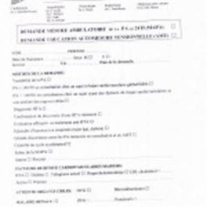 Fiche Automesure Tensionnelle : point sur la prise de la tension art rielle ~ Medecine-chirurgie-esthetiques.com Avis de Voitures
