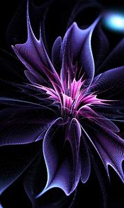Abstract Flower | Abstract flowers, Flowery wallpaper ...