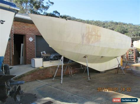 Boat Hulls For Sale by 36 Foot Steel Yacht Hull Designed By Naval Architect Alan