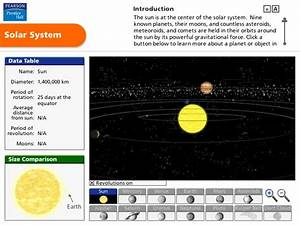 interactive 3D solar system model | science: solar system ...