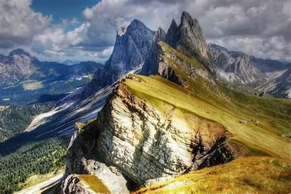 Dolomites Mountains Val Gardena Italy Wallpapers Gg