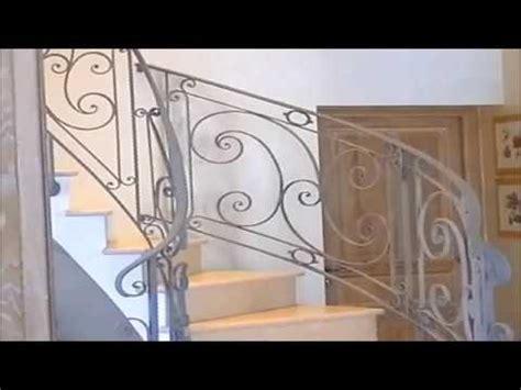 installation d une re d escalier en fer forg 233 chez un client de josiane