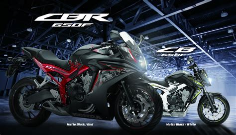 Honda Cb650f Hd Photo by 2017 Sees Honda Cb650f Sports And Cbr650f Sportsbike