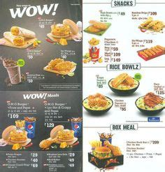 KFC Menu and Prices Ghana