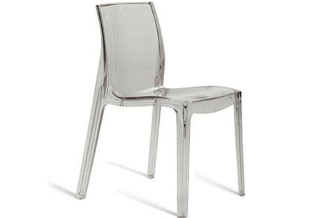 chaise transparente chaises design pas cher declik deco