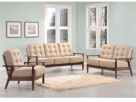 canape en bois et tissu canapés et fauteuil nacka en bois et tissu