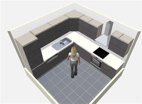 logiciel cuisine gratuit 8 plans de cuisines pour une pièce carrée cuisine plus