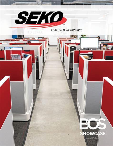 BOS Showcase - SEKO Logistics | Inspiring Workspaces by BOS