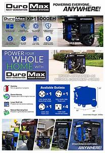 Duromax 12500 Propane