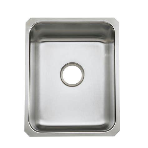 stainless steel single bowl undermount kitchen sink elkay crosstown undermount stainless steel 44 in single