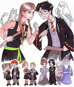 Worst Witch vs Harry Potter by zaionczyk on DeviantArt