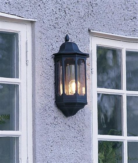traditional flush mounted exterior light