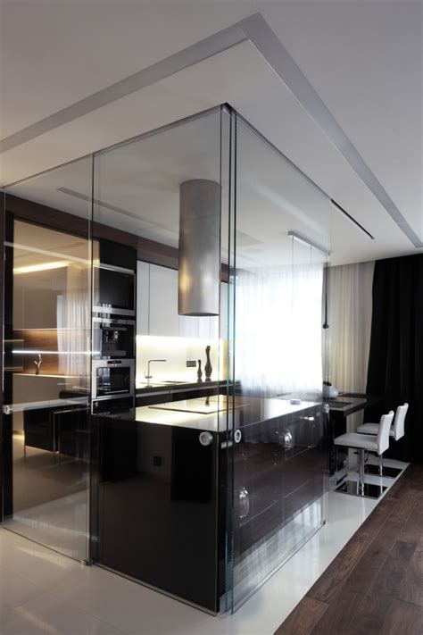 cuisine avec table int馮r馥 awesome cloison cuisine americaine contemporary home